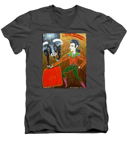 Viva Don Toreadore Men's V-Neck T-Shirt