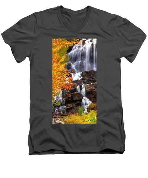 Vivid Falls Men's V-Neck T-Shirt