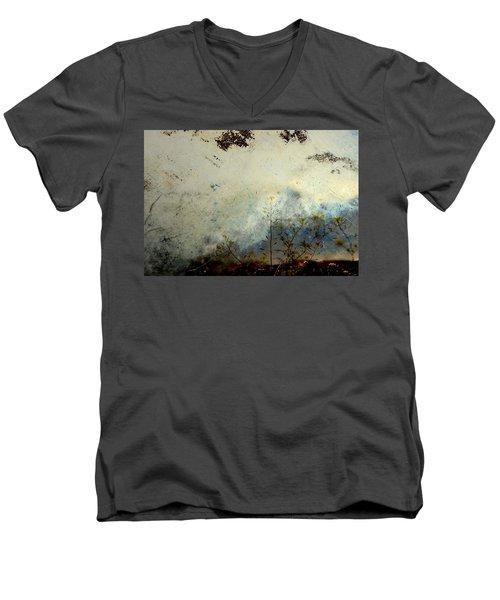 Voices Men's V-Neck T-Shirt by Mark Ross