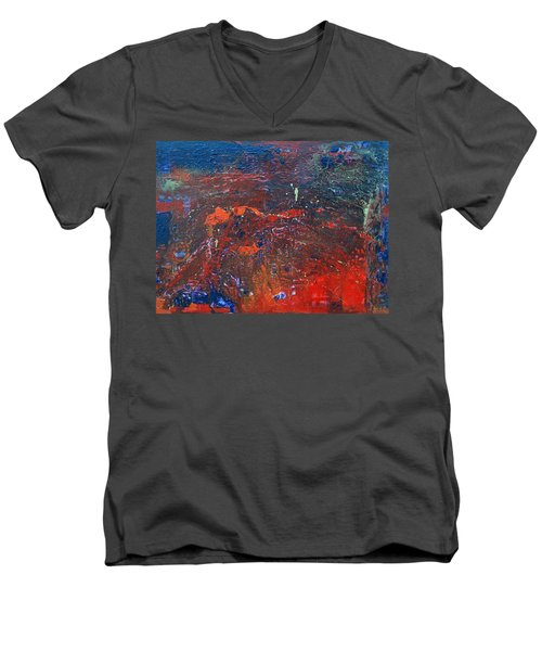 Volcano Men's V-Neck T-Shirt
