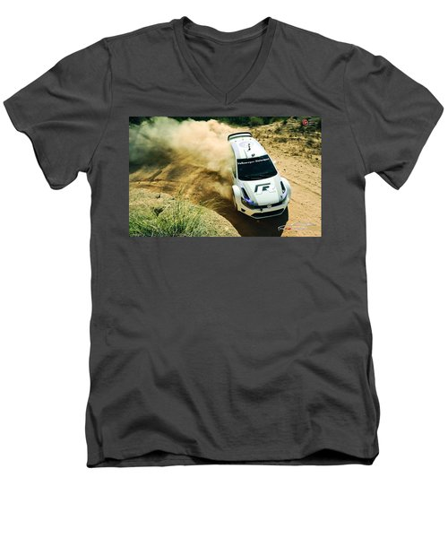 Volkswagen Polo Rally Men's V-Neck T-Shirt
