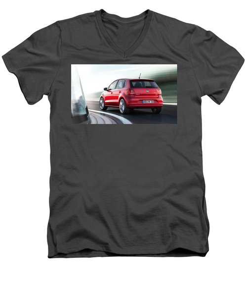 Volkswagen Polo Men's V-Neck T-Shirt