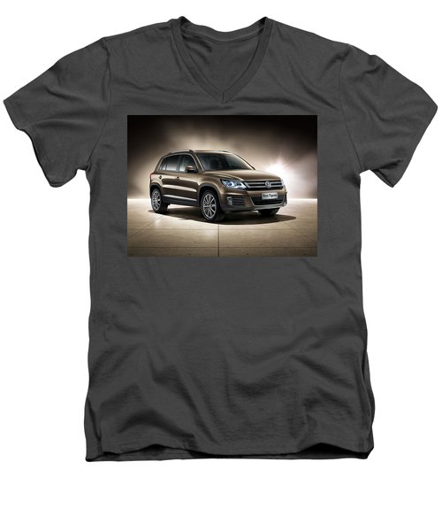 Volkswagen Tiguan Men's V-Neck T-Shirt