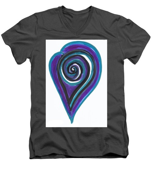 Vortex Wave Men's V-Neck T-Shirt