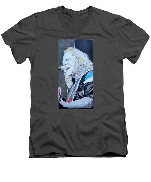 Vote Men's V-Neck T-Shirt by Stuart Engel
