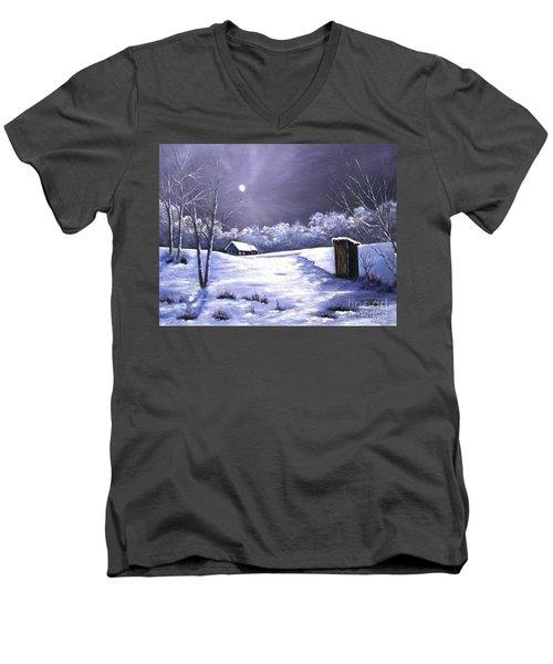 Voting Booth Men's V-Neck T-Shirt