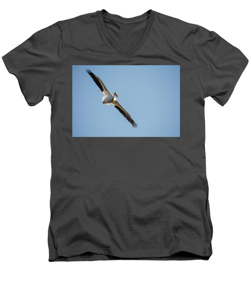Men's V-Neck T-Shirt featuring the photograph Voyage by Brian Duram