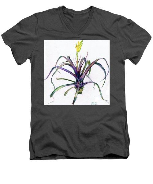 Vriesea Bleheri Men's V-Neck T-Shirt