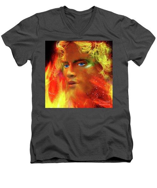 Vulcan Men's V-Neck T-Shirt