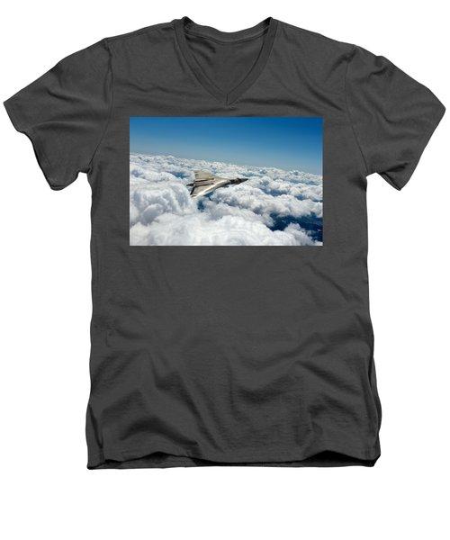 Vulcan Sheen Men's V-Neck T-Shirt