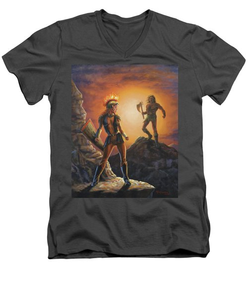 Vulcana  Men's V-Neck T-Shirt