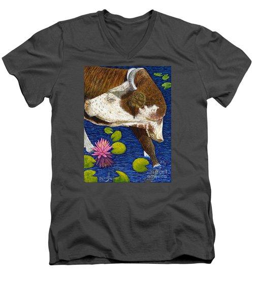 Wading Repose Men's V-Neck T-Shirt