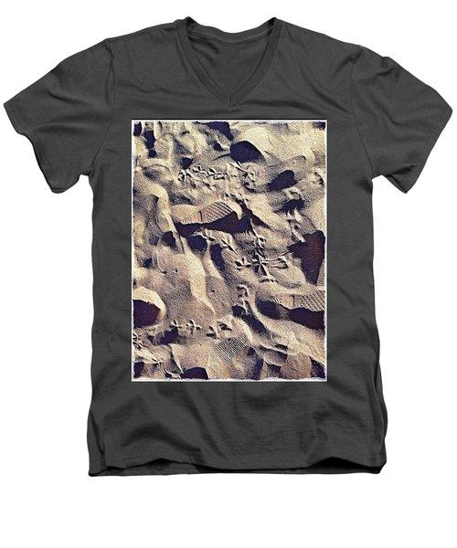 Waikiki Sand Men's V-Neck T-Shirt