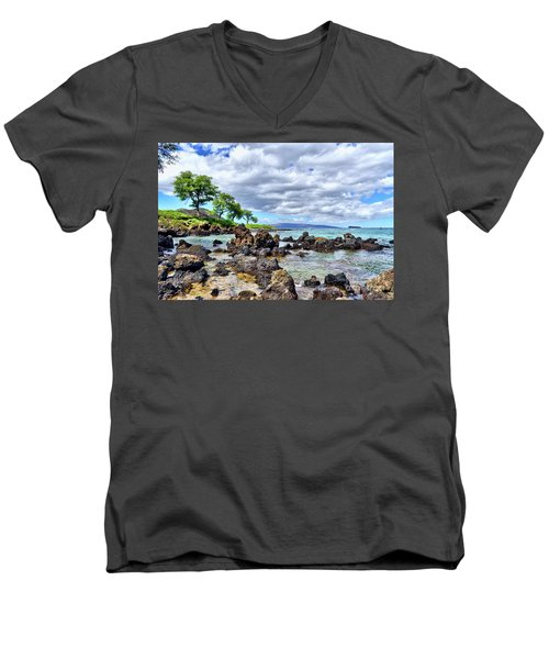 Wailea Beach #2 Men's V-Neck T-Shirt