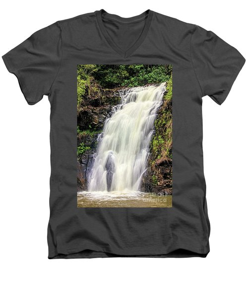 Waimea Falls Men's V-Neck T-Shirt