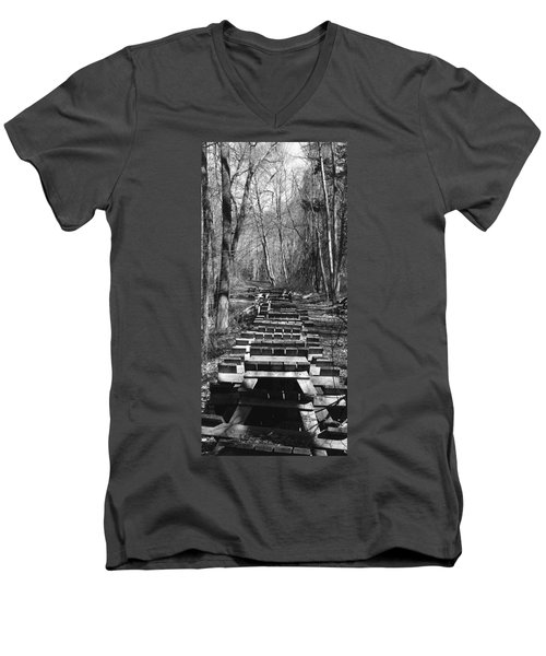 Waiting For Orders Men's V-Neck T-Shirt