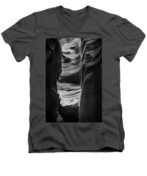 Waiting For Sunlight Men's V-Neck T-Shirt by Jon Glaser