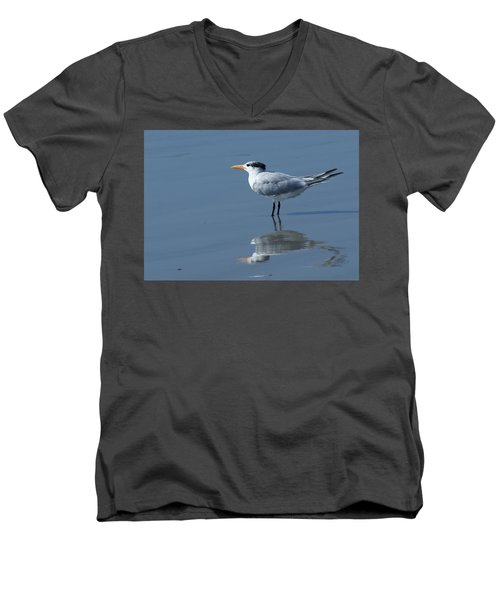 Waiting In The Surf Men's V-Neck T-Shirt