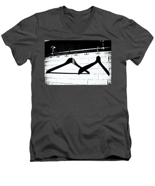 Waiting  Men's V-Neck T-Shirt by Karen Stahlros