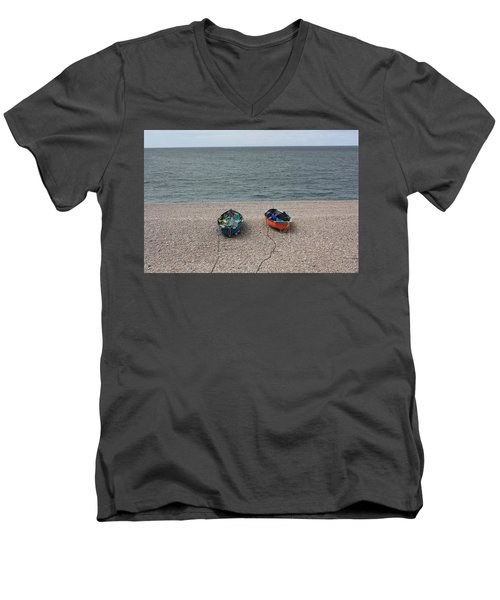 Waiting To Go To Sea Men's V-Neck T-Shirt