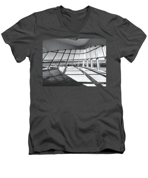 Walk Along The Lake Men's V-Neck T-Shirt