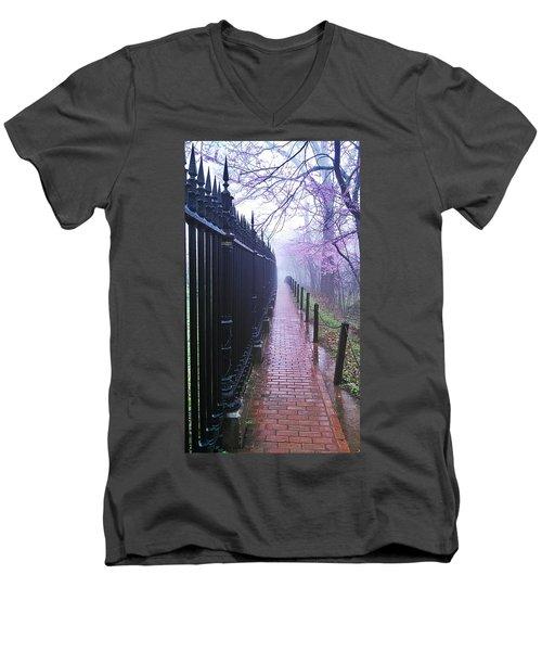 Walk Into The Light Men's V-Neck T-Shirt