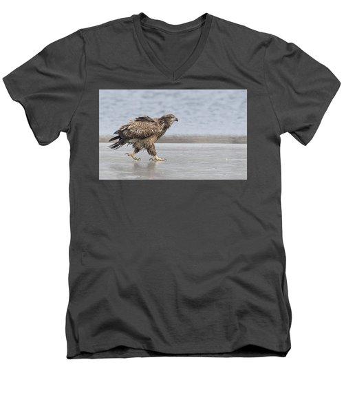Walk Like An Eagle Men's V-Neck T-Shirt
