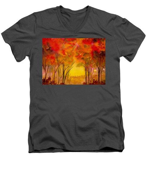 Walk With Me Men's V-Neck T-Shirt