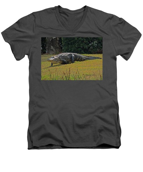 Walking Appetite Men's V-Neck T-Shirt