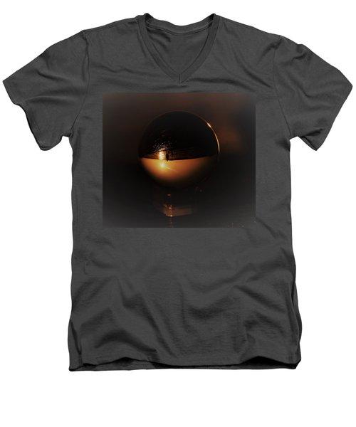 Walking In A Crystal Ball Men's V-Neck T-Shirt