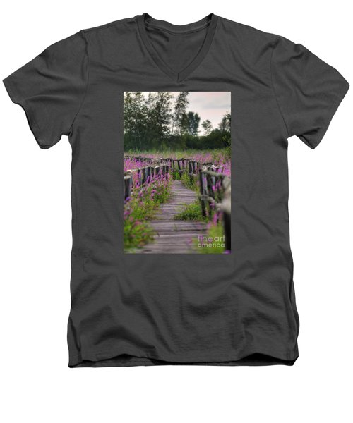 Walking In Magic... Men's V-Neck T-Shirt
