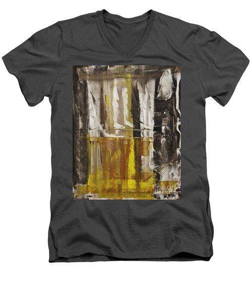 Walking The Dog Men's V-Neck T-Shirt