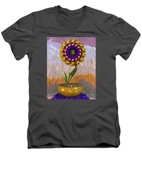 Wall Flower Men's V-Neck T-Shirt