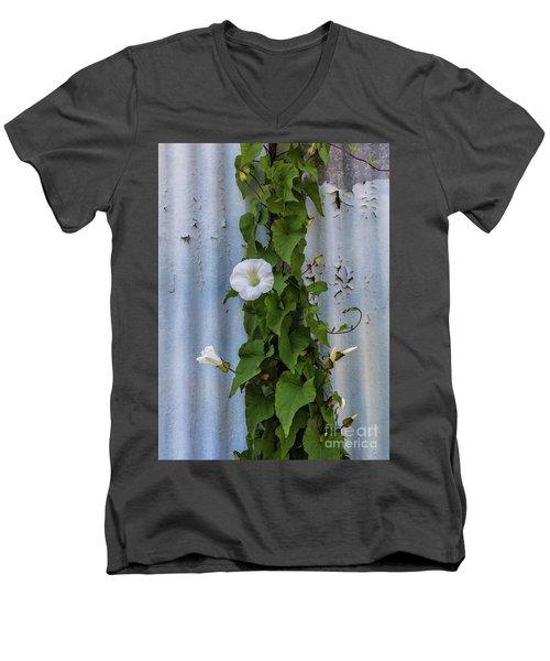 Wall Flower Men's V-Neck T-Shirt