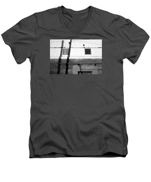 Wall Widows  Shadow 2 Men's V-Neck T-Shirt by Catherine Lau