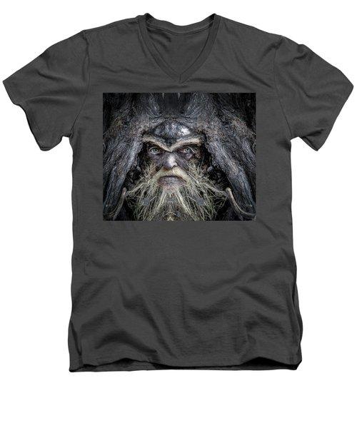 Wally Woodfury Men's V-Neck T-Shirt