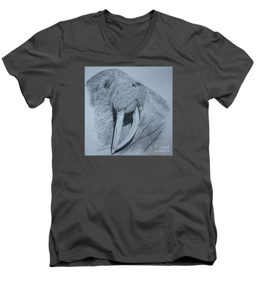 Walrus Men's V-Neck T-Shirt