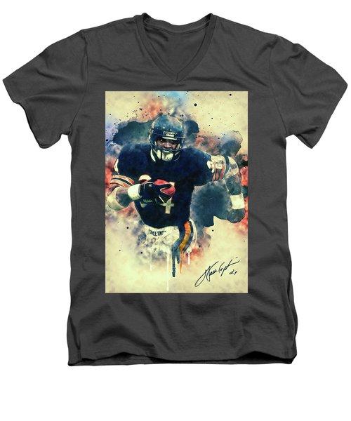 Walter Payton Men's V-Neck T-Shirt