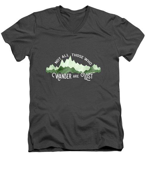 Wander Men's V-Neck T-Shirt