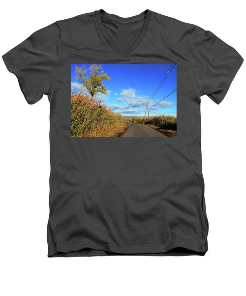 Wanderer's Way Men's V-Neck T-Shirt