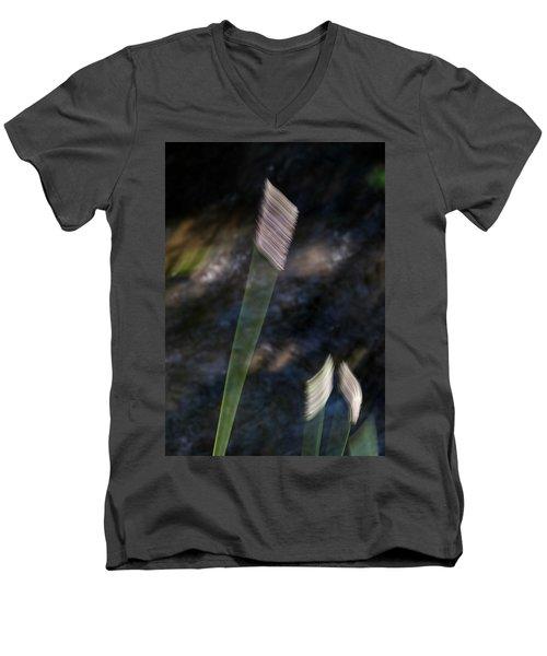 Wands Over Water Men's V-Neck T-Shirt