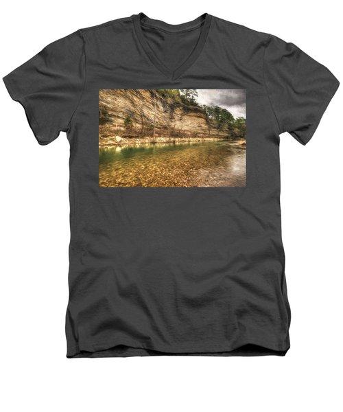 War Eagle Bluff Men's V-Neck T-Shirt