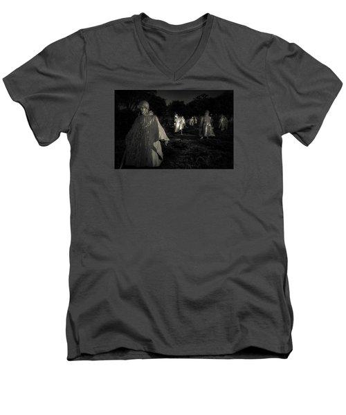 War Ghosts Men's V-Neck T-Shirt