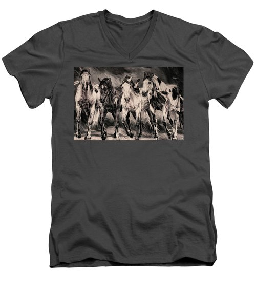 War Horses Men's V-Neck T-Shirt