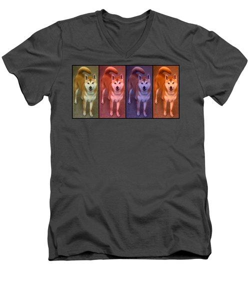 Warhol Yumi Men's V-Neck T-Shirt