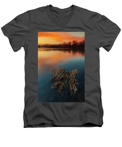 Warm Evening Men's V-Neck T-Shirt