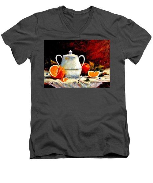 Warm Light Men's V-Neck T-Shirt