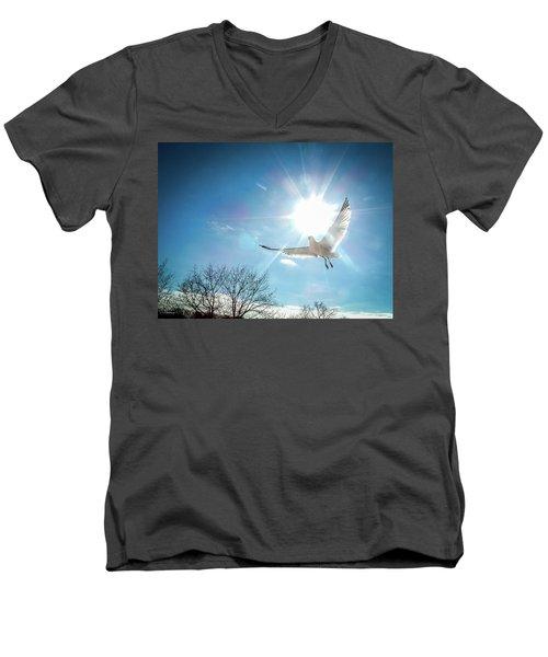 Warmed Wings Men's V-Neck T-Shirt