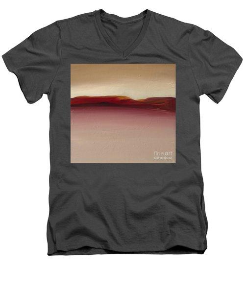 Warm Mountains Men's V-Neck T-Shirt