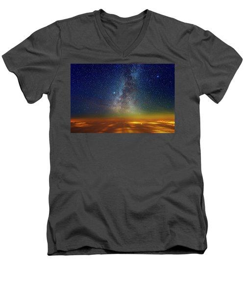 Warp Speed Men's V-Neck T-Shirt